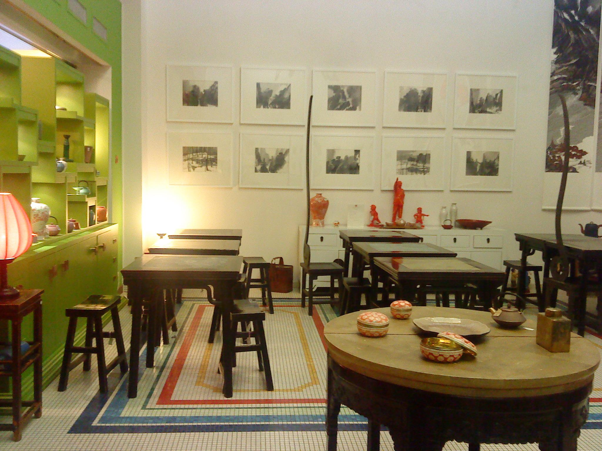 Le salon de th de la maison de la chine mademoiselle for Les salon de maison