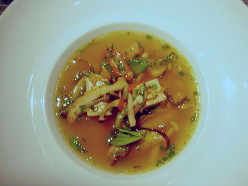 Minestrone de canard et foie gras - DR Melle Bon Plan