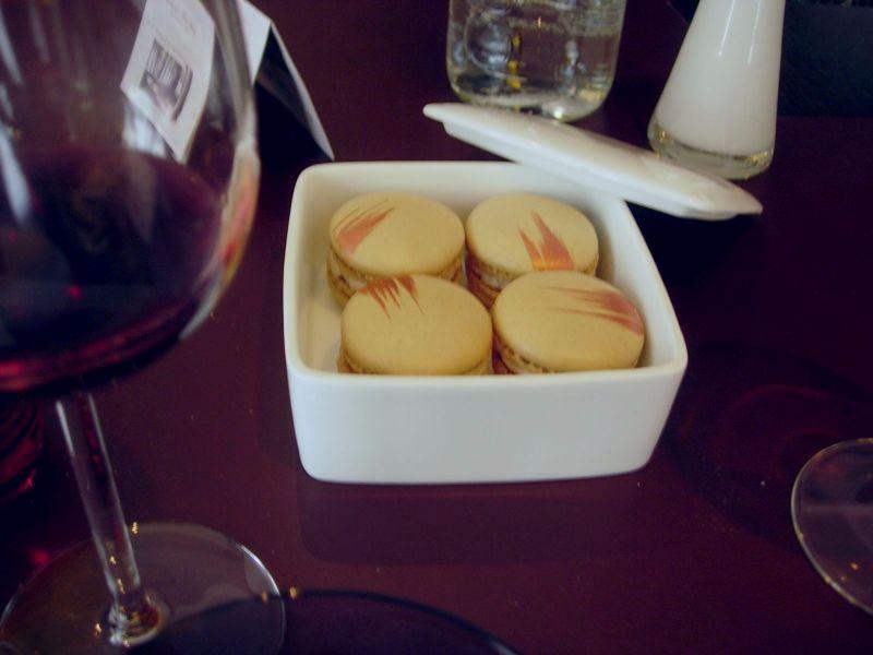 Macarons marron-cassis - DR Melle Bon Plan