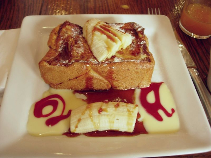 Banana French Toasts Ellis Island Café - DR Melle Bon Plan