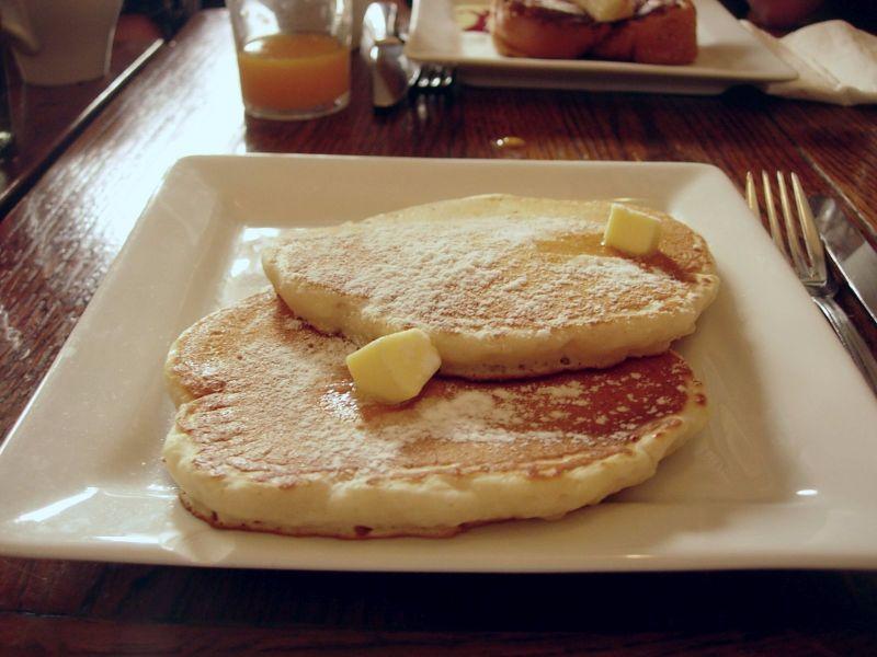 les pancakes Ellis Island Café - DR Melle Bon Plan