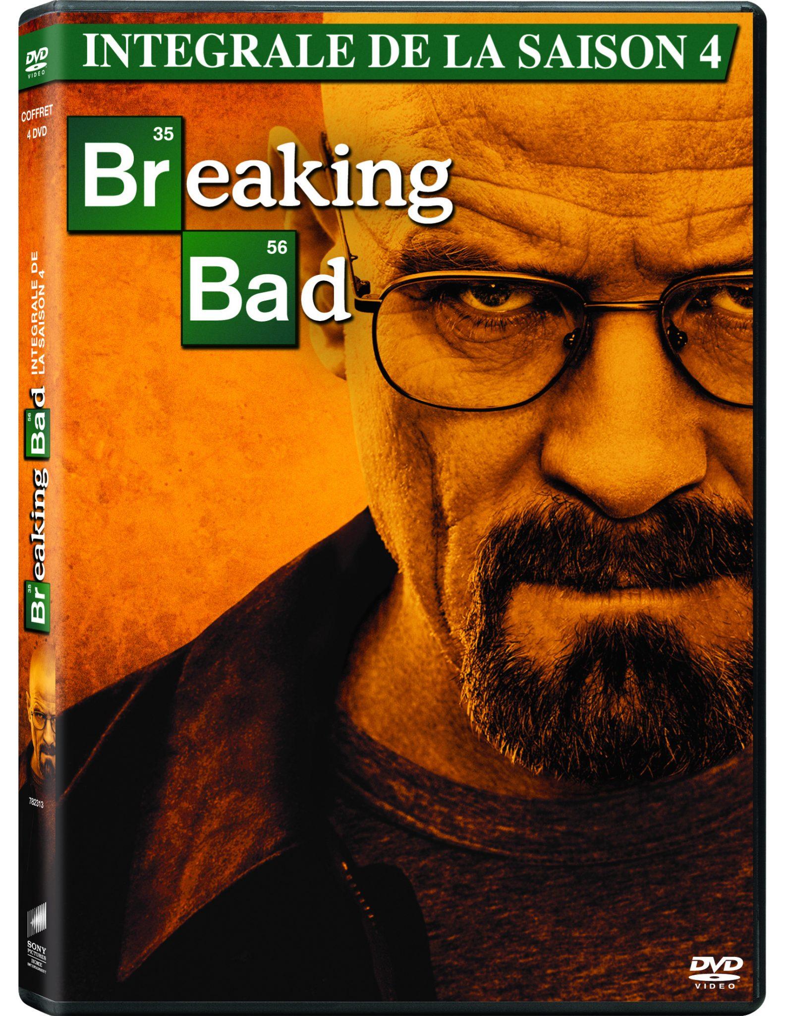 saison 4 breaking bad en dvd mademoiselle bon plan