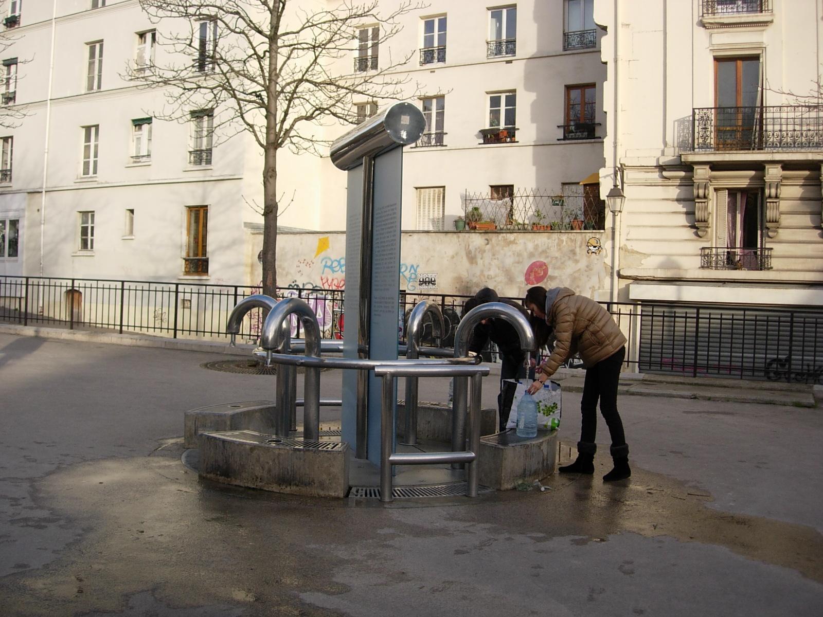 La fontaine de la butte aux cailles mademoiselle bon plan for La fontaine aux cuisines