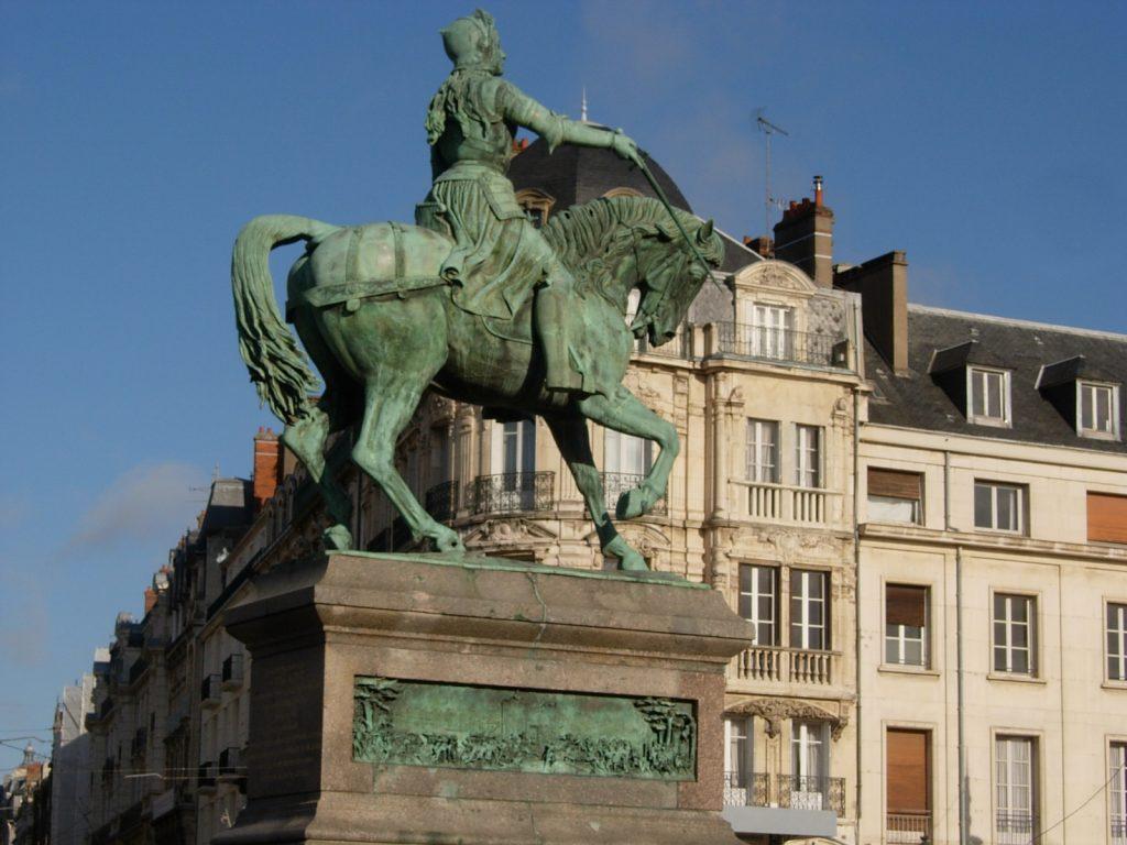 Statue de Jeanne d'Arc - DR Melle Bon Plan 2013