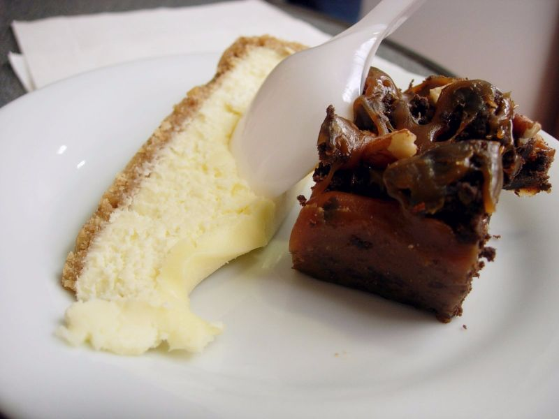 Cheesecake et brownies noix de pécan Hutch - DR MelleBonPlan