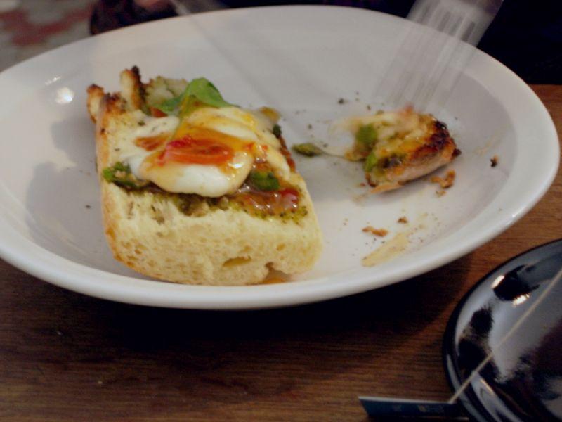 Tartine mozza chaude - DR Melle Bon Plan