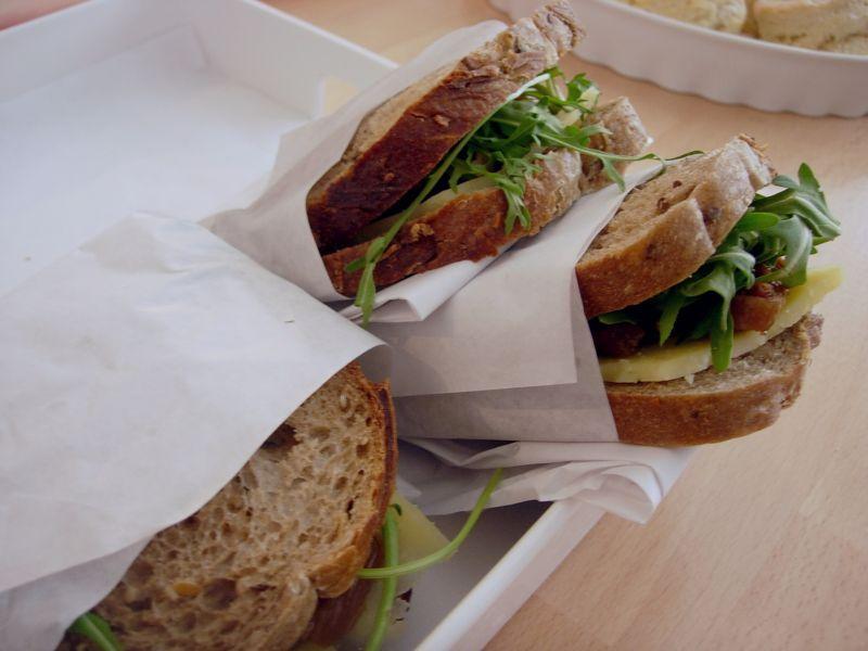 sandwichs du jour Tuck Shop - DR melle Bon Plan