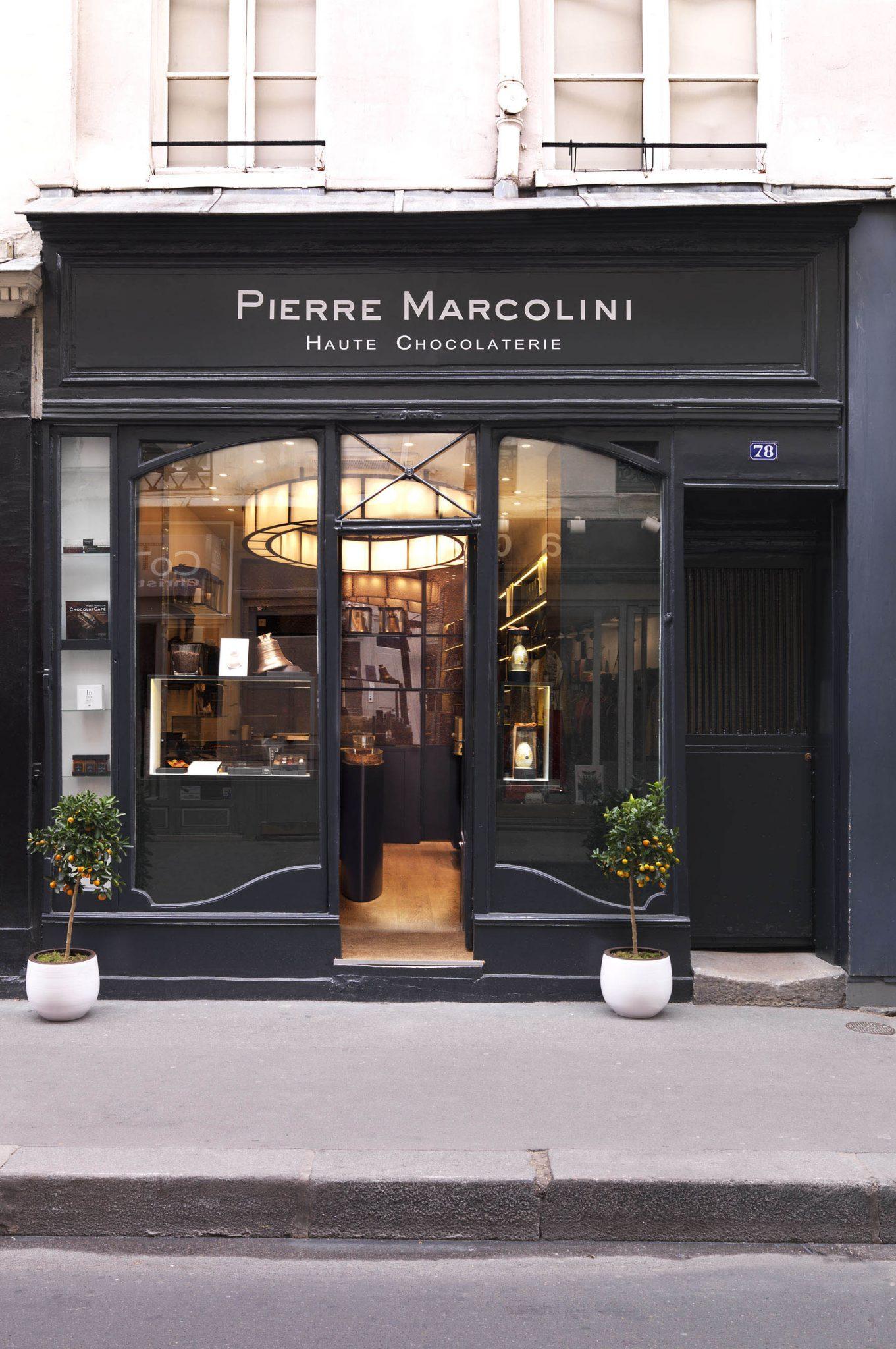 Pierre marcolini ouvre un nouveau temple du chocolat for Magasin deco exterieur