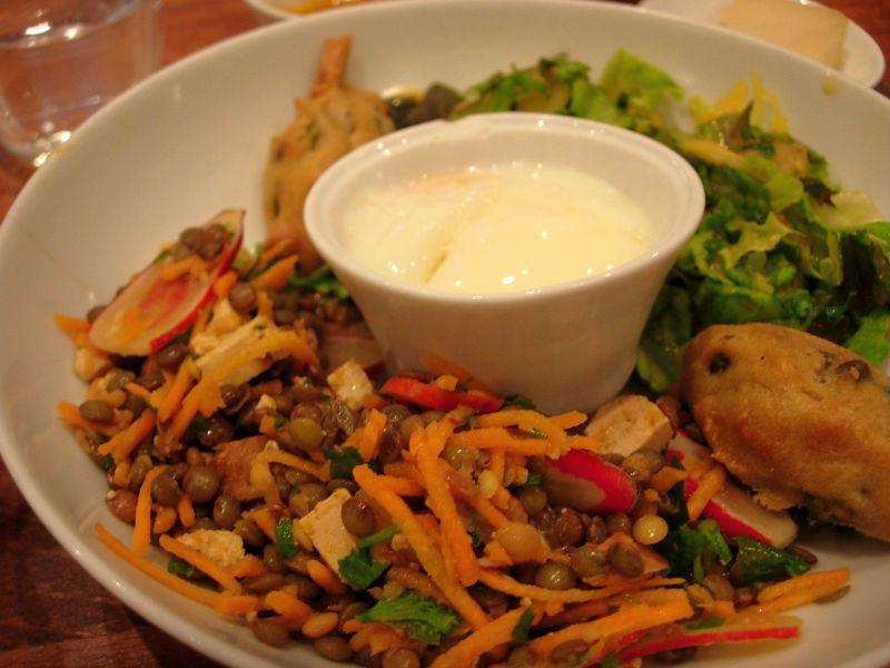 assiette salé brunch Café Pinson - DR MelleBonPlan