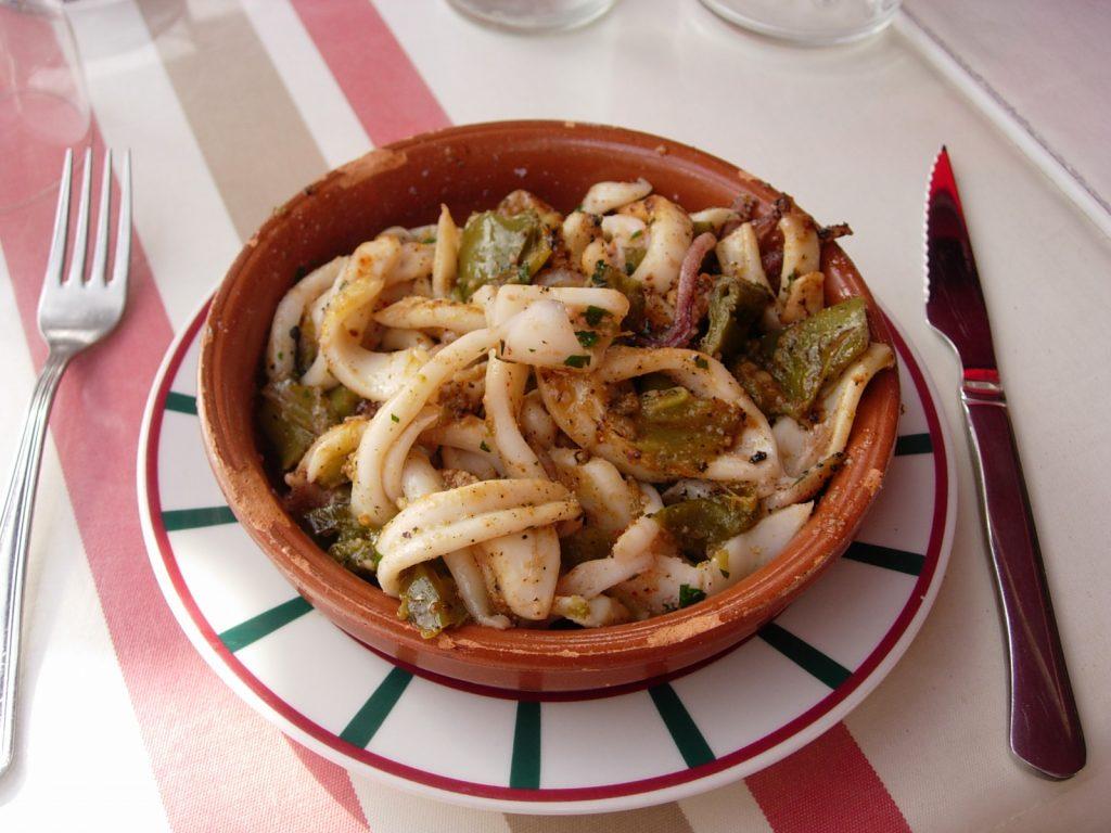 Restaurant Ispeguy Menu