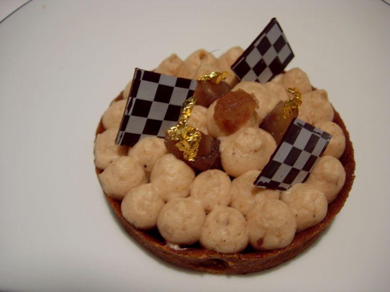 dessert tartelette restaurant Initiale - Sofitel Paris Arc de Triomphe - DR Melle Bon Plan