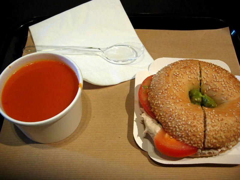 Soupe et bagels Oh My Cake - DR Melle Bon plan