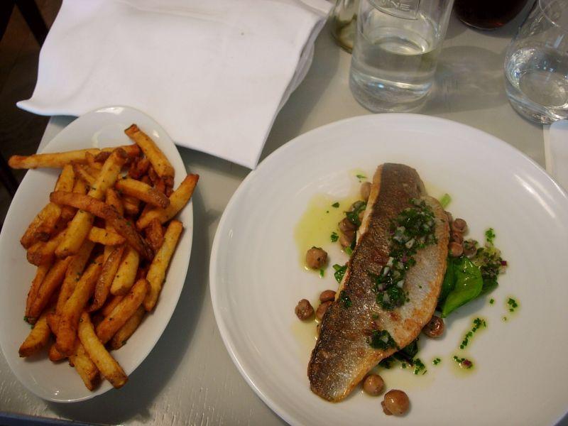 Frites et poisson du jour - DR Melle Bon Plan