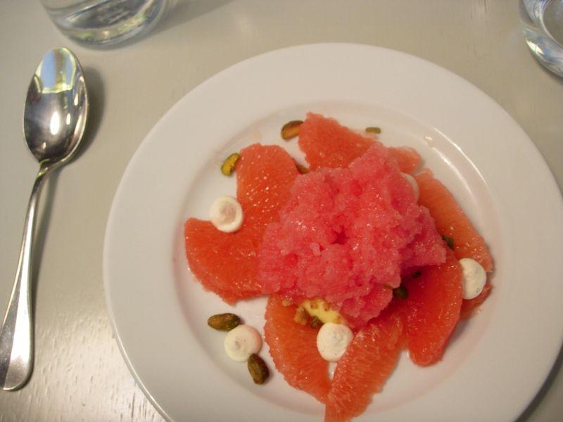pomelos, granité et pistache - DR Melle Bon Plan
