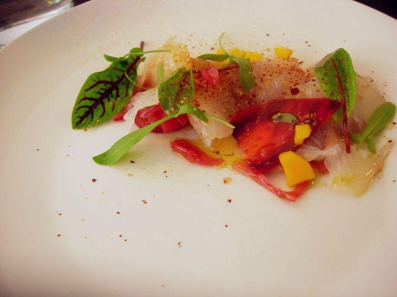 Ceviche de poissons et saint jacques La Plantxa - DR Melle Bon Plan