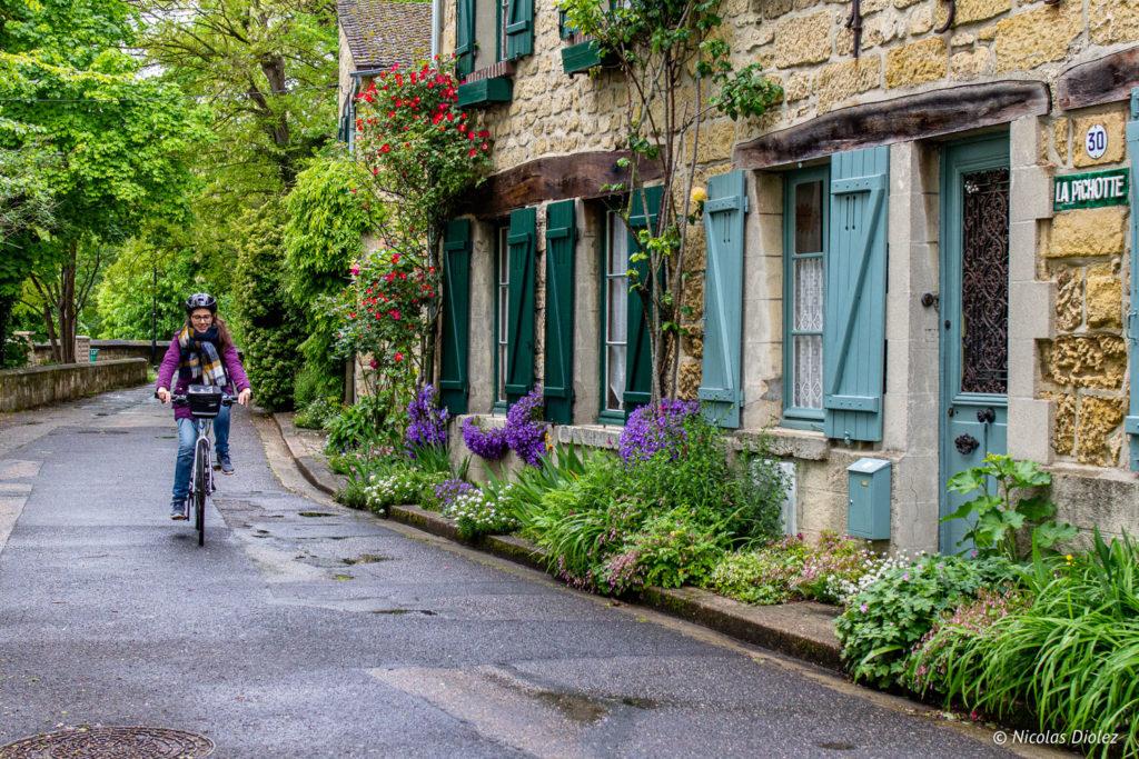vélo Auvers-sur-Oise