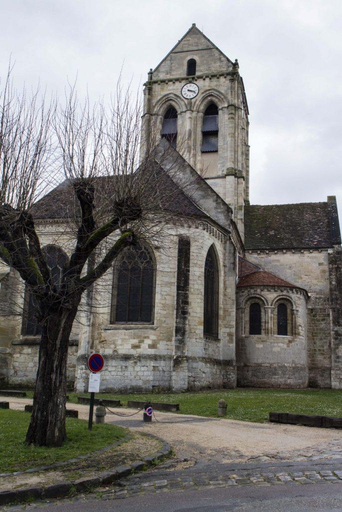 eglise Auvers sur Oise - DR Nicolas Diolez 2016