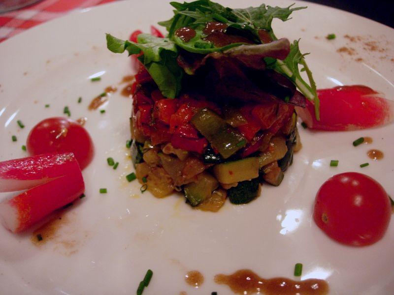 Millefeuille de légumes au Saint Maure de Touraine - DR Melle Bon Plan