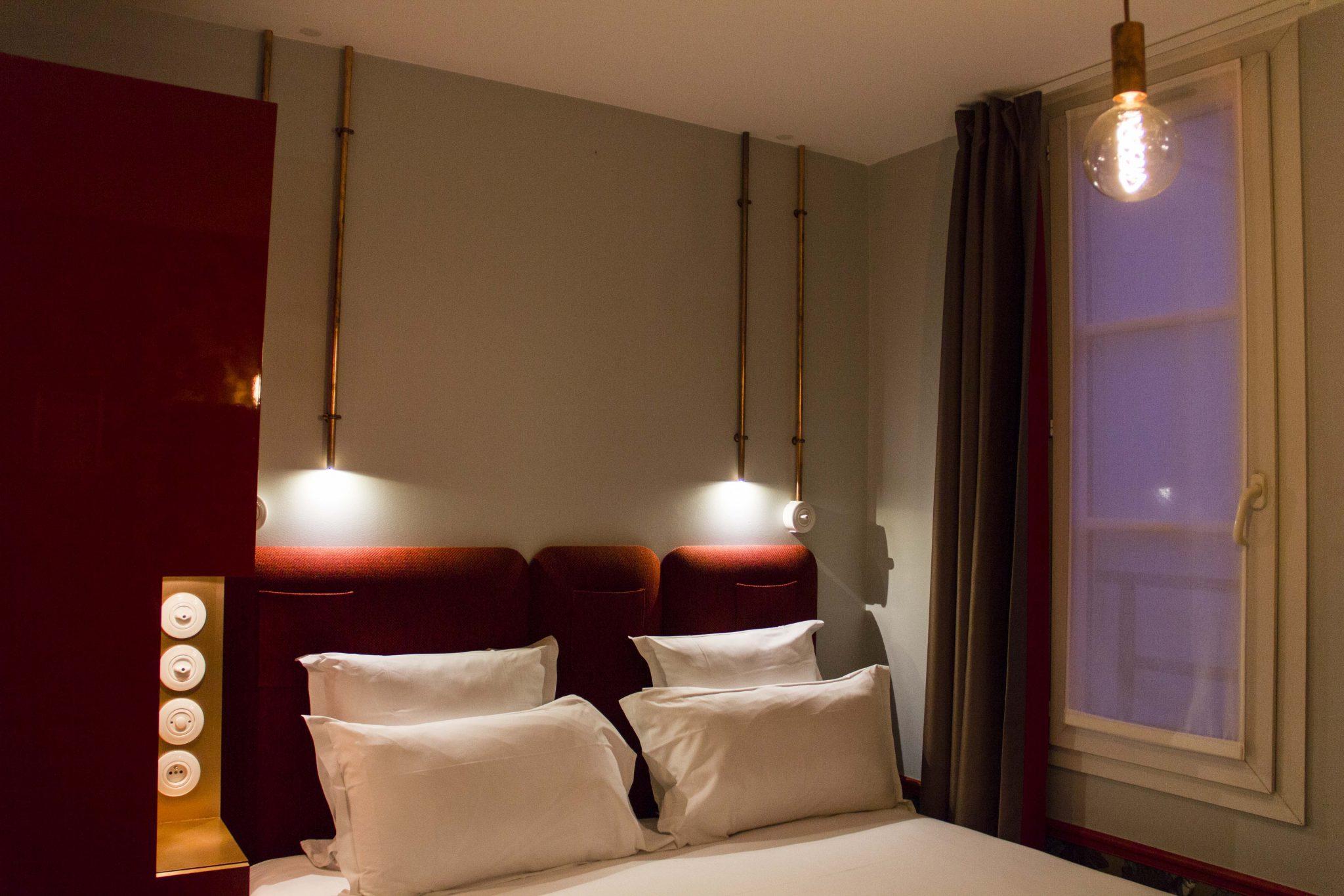 les hotels parisiens de melle bon plan mademoiselle bon plan. Black Bedroom Furniture Sets. Home Design Ideas
