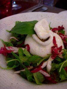 Mozzarella des Pouilles Restaurant La Rosa - DR Melle Bon Plan