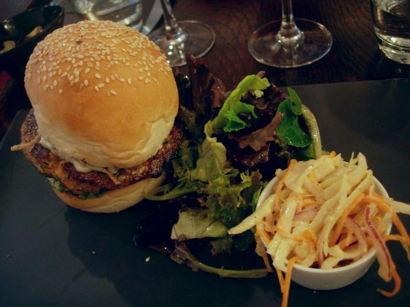 Burger saumon et thon Bistrot Family - DR Melle Bon Plan