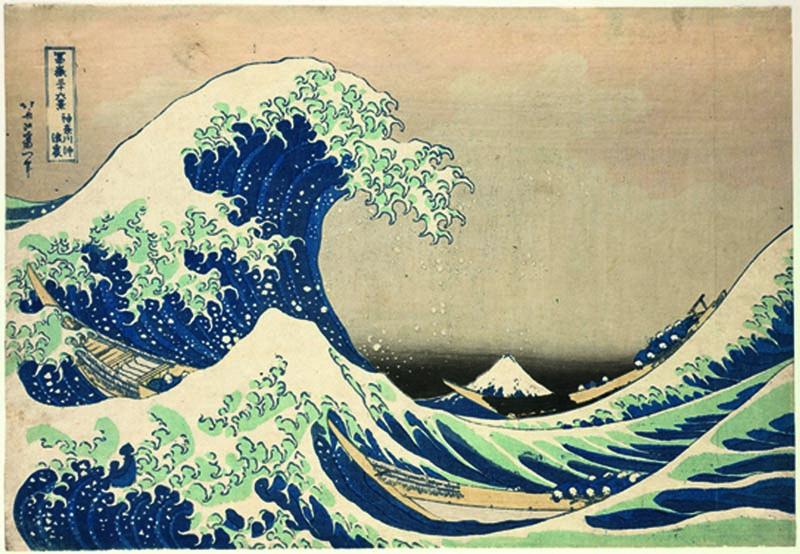 BD - Dans le creux d-une vague au large de Kanagawa -