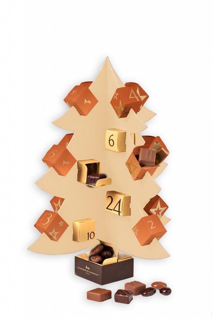 Calendrier de l'avent La Maison du Chocolat ©C.Faccioli
