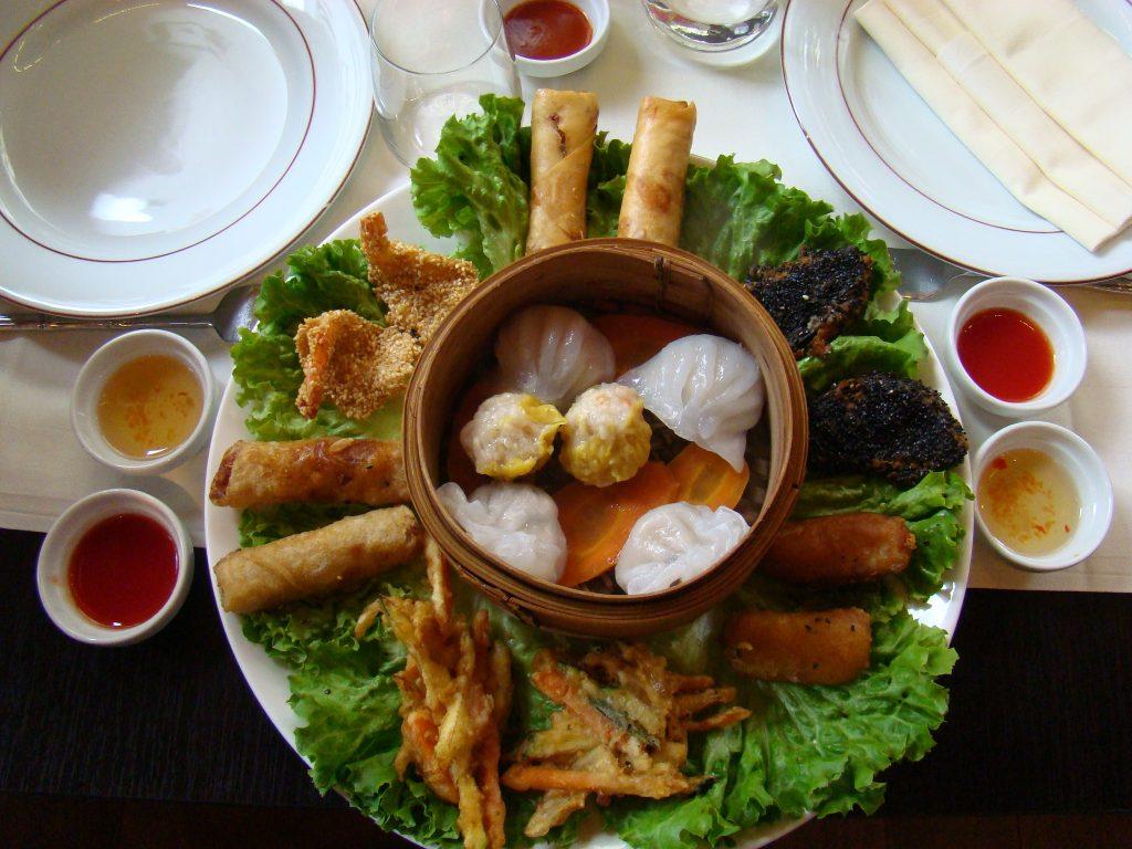 Plateau traditionnel Menu Nouvel-An Chinois Restaurant Zen Garden Paris - DR Melle Bon Plan