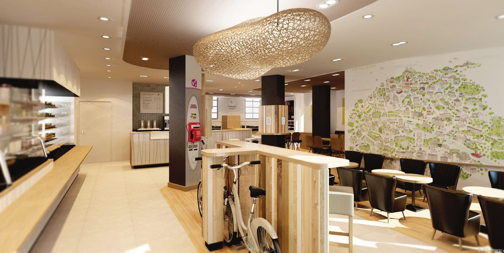 la maison velib exki un coffee bike paris mademoiselle bon plan. Black Bedroom Furniture Sets. Home Design Ideas
