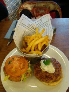 Raïta Chicken burger Moutarde Street Saint Michel - DR Melle Bon Plan