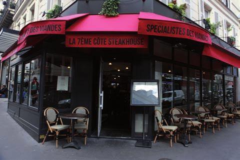 La 7 me c te le steakhouse de la rue des martyrs for Restaurant miroir rue des martyrs