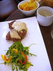 Pavé de boeuf La 7e côte restaurant - DR Melle Bon Plan