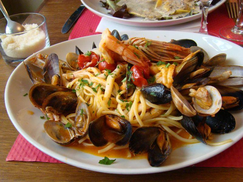 Linguine aux fruits de mer Bombolo - DR Melle Bon Plan
