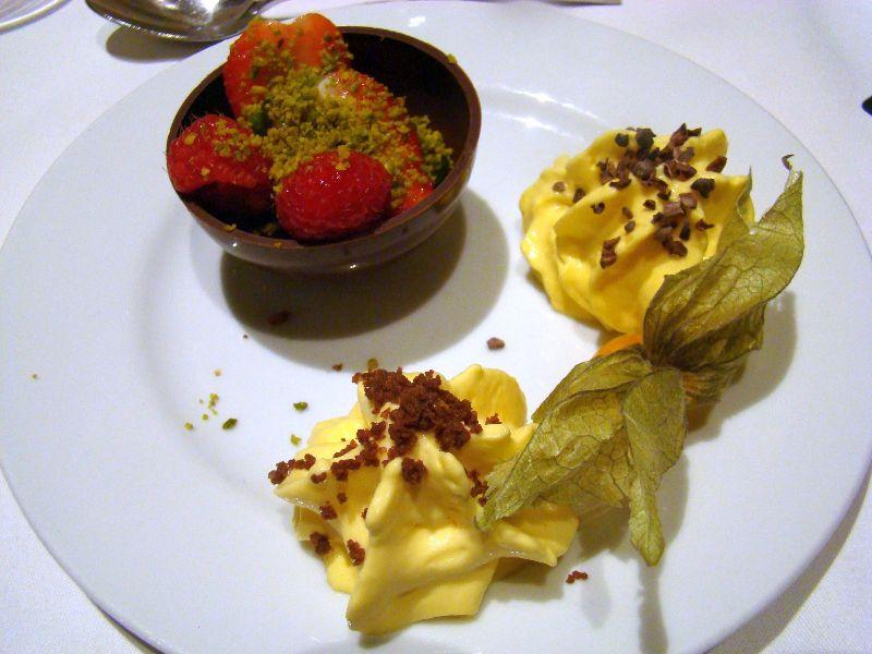 dessert et chantilly de yuzu Chalet des iles Daumesnil - DR Melle Bon Plan