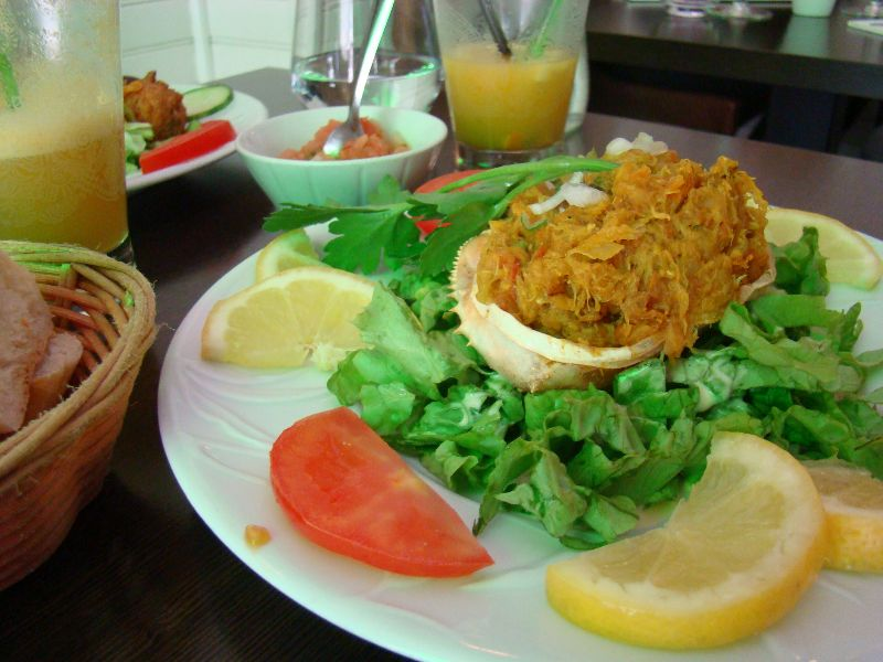 Crabe farci Restaurant Ile de la Réunion Paris - DR Melle Bon Plan
