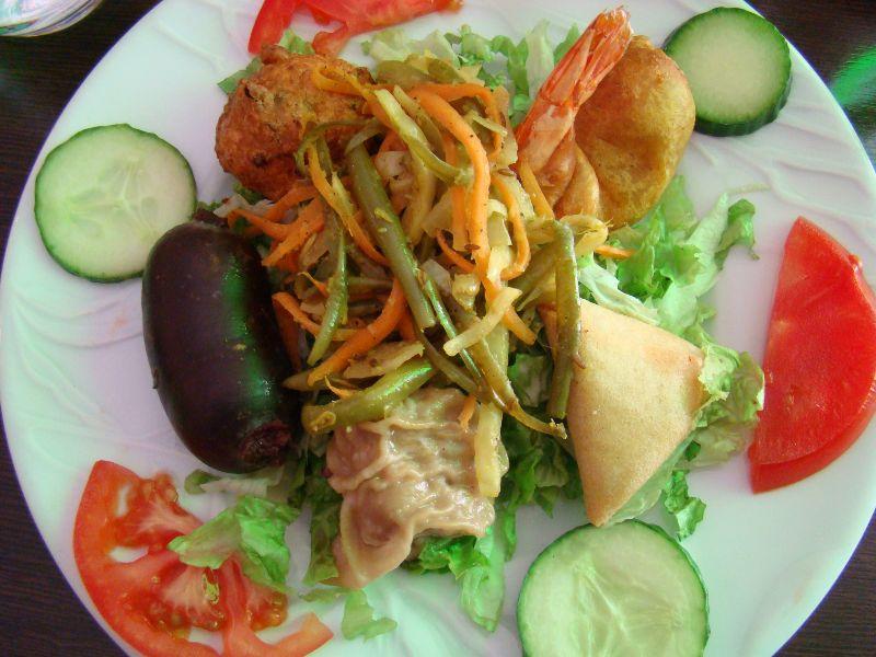 Assiette créole Restaurant Ile de la Réunion Paris - DR Melle Bon Plan
