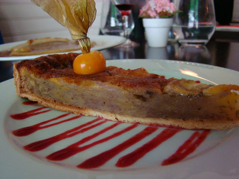 Tarte banane Restaurant Ile de la Réunion Paris - DR Melle Bon Plan