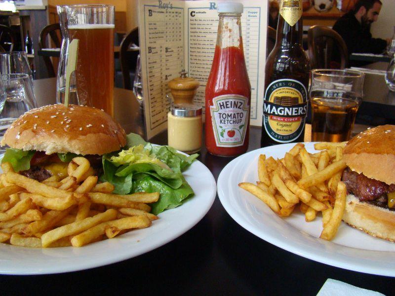 burgers Roy's Pub - DR Melle Bon Plan