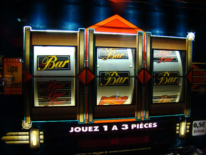 Machine a sous Casino de Saint Jean de Monts - DR Melle Bon Plan