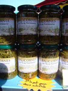 Salicornes marché de Saint Jean de Monts - DR Melle Bon Plan