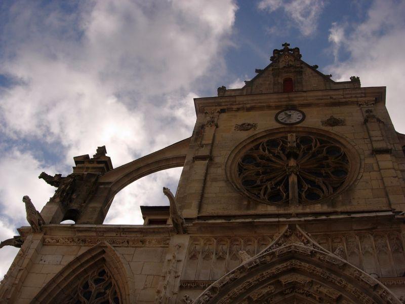 église Houdan randonnée dans les Yvelines Vert - DR Melle Bon Plan