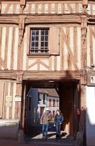 Houdan-maisons médiévales