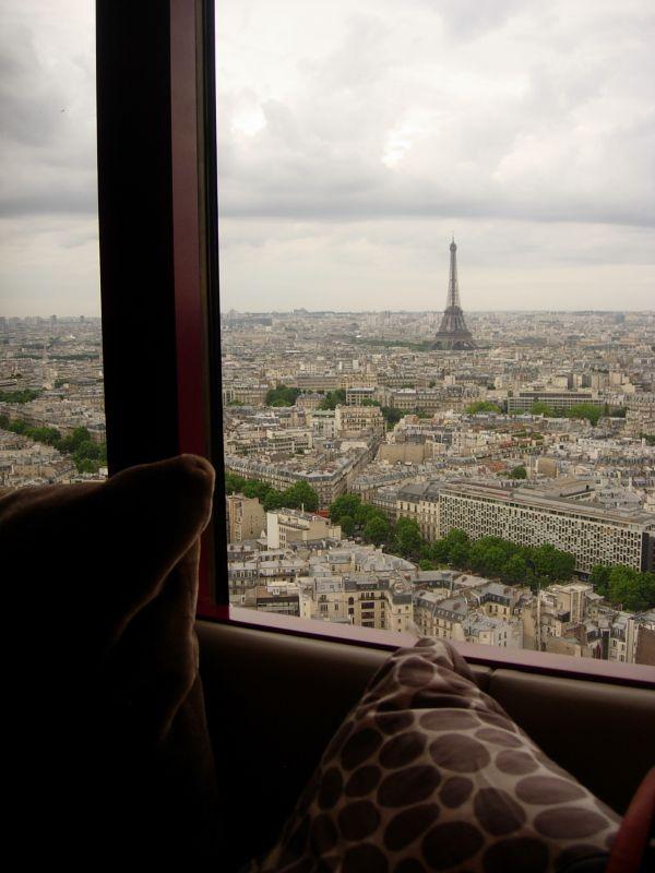 Bar la vue hyatt regency paris dr melle bon plan for Bon plan hotel paris