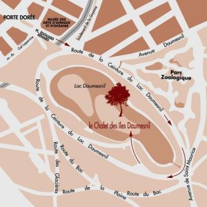 Plan Chalet des iles Daumesnil
