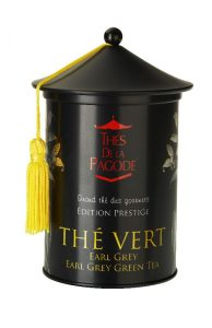 Thé Vert Earl Grey thés de la pagode
