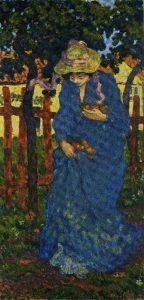 Albert-André-La-femme-en-bleu-Albert-Andre¦ü-1895-huile-sur-toile-coll-Muse¦üe-dart-sacre¦ü-du-Gard-de-Pont-Saint-Esprit