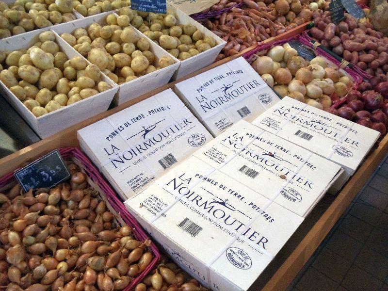 la bonnotte pomme de terre de Noirmoutier Saint jean de Monts