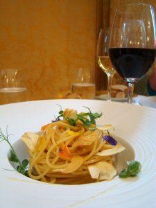 Spaghettis à l'huile d'olive et ail croustillant Le Bien Aimé - DR Melle Bon Plan