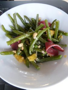 salade de Haricots verts restaurant Maguey - DR Melle Bon Plan