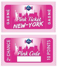 Pink ticket et pink code nana